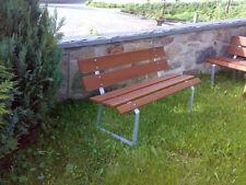 Gartenbank - Gestelle zur Komplettierung Stahl verzinkt