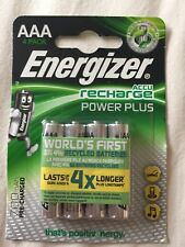 Energizer Rechargeable AAA Batteries x 4 700mAh