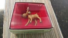 1985 Enesco Our Hero Reindeer Handcrafted Ornament RARE NIB NEW