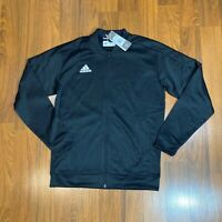 adidas Men's Activewear TI Bomber Track Jacket Full Zip Size M, L Black New
