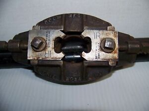 Reed Mfg.Co 1 R Pipe Threader Machinist Vintage