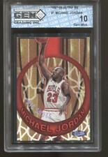 1995-96 Michael Jordan Ultra Big Shots #1 Gem Mint 10 Chicago Bulls