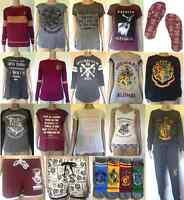 Harry Potter Women's Clothing Tshirt/Shorts/Joggers Primark Gryffindor Hogwarts