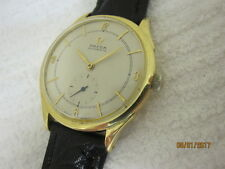18K Omega Automatic 28.10 RA PC - Solid 18K Gold ca. 1945- SERVICED