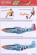 Kits World Decals 1/48 P-51D MUSTANG Temptation & Daisy Mae