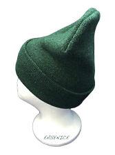 GREEN SKULLY BEANIE HAT CAP WINTER JAMAICA REGGAE BOB MARLEY IRIE ONE LOVE NEW