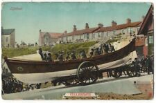 CULLERCOATS Lifeboat, Northumberland Postcard by A&G Taylor, Unused