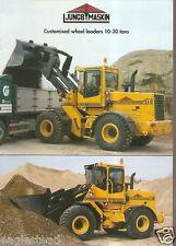 Equipment Brochure - Jungb Maskin - L10 et al L series - Wheel Loader (E1887)