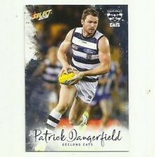 2018 select FOOTY STARS GEELONG #79 PATRICK DANGERFIELD COMMON CARD FREE POST