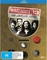 Warehouse 13 : Season 1-5 (Blu-ray, 19-Disc Set) NEW