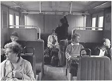 FOTO/REPRO ZEIGT S-BAHNWAGEN INNENAUFNAHME 1989  (AGF537)