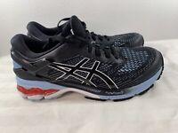 ASICS GEL-KAYANO 26 1012A457 Running Shoes, Women's Size 8, Black/Blue