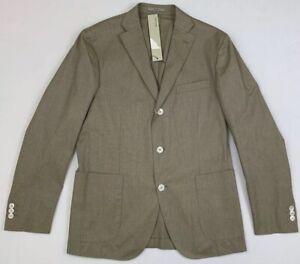 boglioli dover cotton unstructured jacket sz 50 us 40 r nwt pr2467