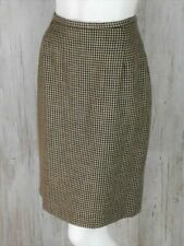 Pendleton Women's Size 12 Pencil Skirt Houndstooth Plaid Wool Blend Above Knee