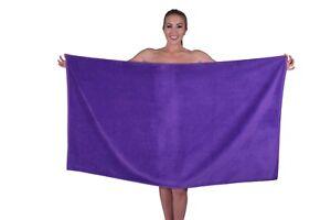 Puffy Cotton Premium Hotel & Spa Plush Velour Large Beach Towel / Bath Sheet