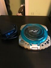 Sony Psyc Portable CD Player Model D-EG3 Blue Discman+Charger Ships Free