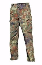 German Army Issued FLECKTARN CAMO Trousers - Camouflage Military Pants