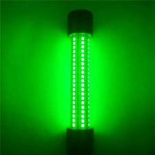 Green LED Underwater Fishing Light 12V Submersible Night Crappie Shad Squid Lamp