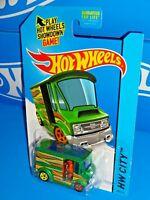Hot Wheels 2015 Art Cars Series #29 Bread Box Green w/ 5SPs