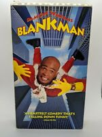 Blankman (1994) -VHS Movie-Comedy / Action- Damon Wayans -RARE HTF CULT
