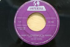 "Hot Jumpers-When It's Springtime In The Rockies/Let's Rock Little Baby  7"" 45"