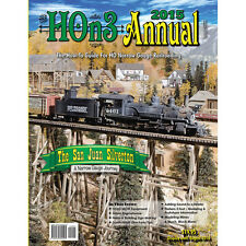 HOn3 ANNUAL 2015 (How-To Guide for HO Narrow Gauge) NEW BOOK -- 2015 HOn3 ANNUAL