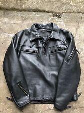 New listing Vintage Original Rare Langlitz Leather Motorcycle Jacket Usa Portland Sz Xl