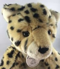 "Build a Bear Workshop Leopard Plush 12"" Collectibear 2007 Seated Tan Black Spots"