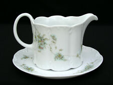 ROSENTHAL CLASSIC ROSE COLLECTION - GRAVY BOAT W/ UNDERPLATE - GERMANY PORCELAIN