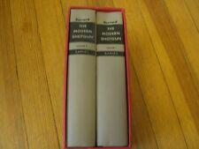 The Modern Shotgun Volumes 1 & 2, 1st ed. Maj. G  Burrard, Slipcase 1961