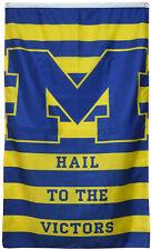 Michigan Wolverines Hail Victors Vertical Ncaa banner 3X5ft Flag Us Shipper