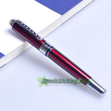 jinhao 250 red Medium NIB FOUNTAIN PEN new free shipping