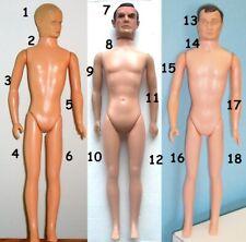"1965 JAMES BOND MAN UNCLE ODDJOB 12"" gilbert figure -- ARM LEG HAT BOOTS DOMINO"