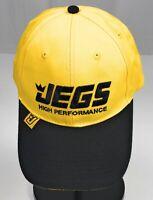 JEGS High Performance Auto Parts NHRA Strapback Adjustable Yellow Cap Hat