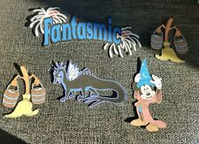 Disneys Fantasmic printed scrapbook page die cut set