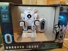 RC Remote Control Battle Spacebot by Sharper Image Infrared Control Poseable Arm
