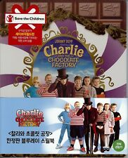 Charlie and the Chocolate Factory Limited Edition SteelBook w/Slip; Korea Import