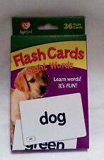 Apple Seed Sight Words 36 Fun Learning Flash Card Set