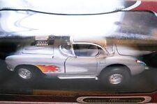 Chevrolet Corvette Gasser Hot Rod grau grey metallic, Road Signature 1:18 boxed!