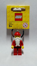 Brand New Lego - Father Christmans/Santa Clauss Keyring - Classic -  850150