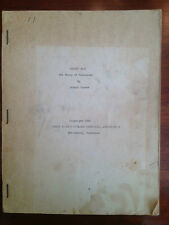 "Rare 1956 Original Script ""Chucky Jack"" Outdoor Drama Tennessee Cherokee Indians"