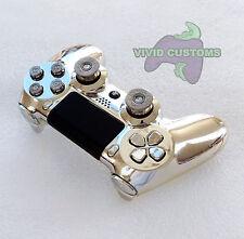 Custom puce Playstation 4 Dualshock Sans Fil Contrôleur PS4-Silver bullet