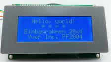 Einbaurahmen für LCD 20x4, 4x20 , LCD 2004 , Yver Inc. Model FF2004