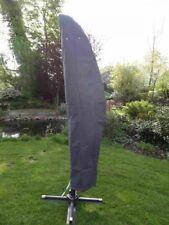 Premium Schutzhülle für Ampelschirm grau, Abdeckung Sonnenschirm Wetterschutz