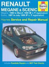 Renault Megane & Scenic Petrol & Diesel (96 - 99) Haynes Repair Manual: 1996 t,