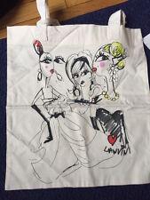 Lanvin for H&M tote bag Unicef edition NWT rare