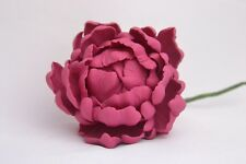"small 3"", sugar paste closed peony flower, handmade,sugarcraft, wedding,edible"