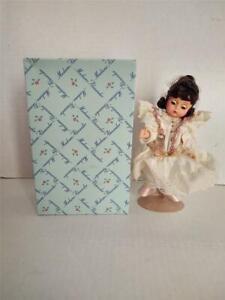 Vintage Madame Alexander Flower Top Girl Doll In Box