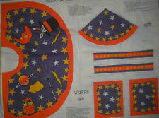 Trick or Treat Wizard Hat & Cape withTreat bag Panel -  Quilt, Sew, Fabric 1 YD