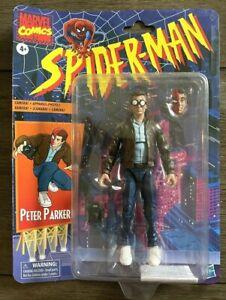 Marvel Legends Retro Peter Parker 6 inch Action Figure (E9319) ~ NEW *READ*